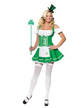 Picture of Lucky Lass Adult Womens Costume