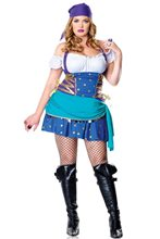 Picture of Gypsy Princess Adult Womens Plus Size Costume