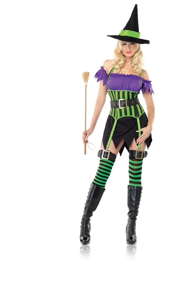 Picture of Spell Binding Witch 3pc Costume