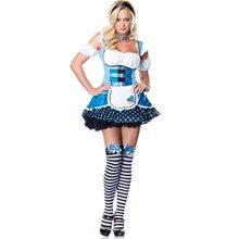 Picture of Magic Mushroom Alice Adult Womens Costume
