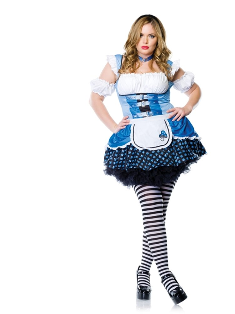 Picture of Magic Mushroom Alice Plus Size Costume