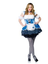 Picture of Magic Mushroom Alice Plus Size Costume