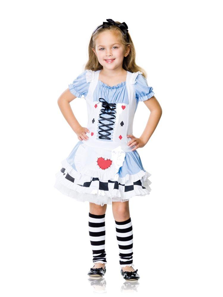 Picture of Miss Wonderland 2pc Child Costume