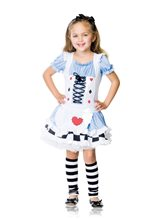 Picture of Miss Wonderland 2pc Child Costume
