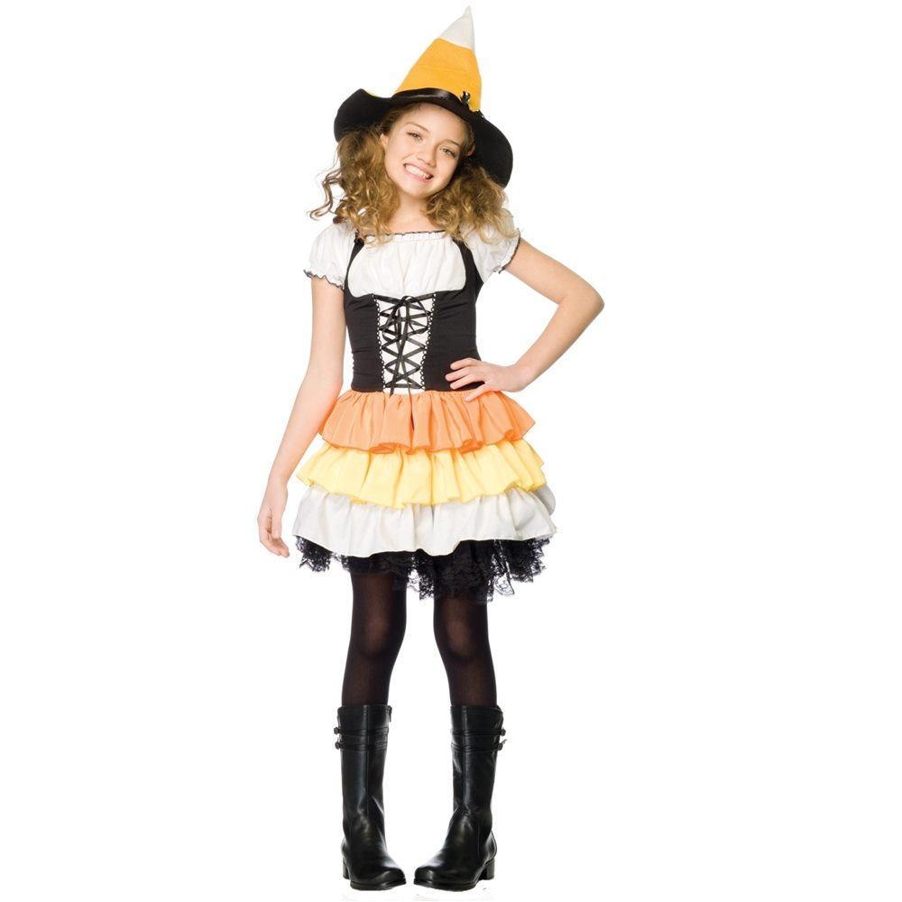 Picture of Kandy Korn Witch Child Costume