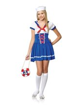 Picture of First Mate Sailor 2pc Costume