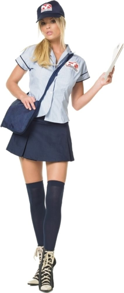 Picture of Mail Delivery Girl 4pc Costume