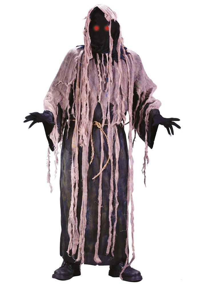 Picture of Gauze Zombie with Fading Eyes Adult Mens Costume