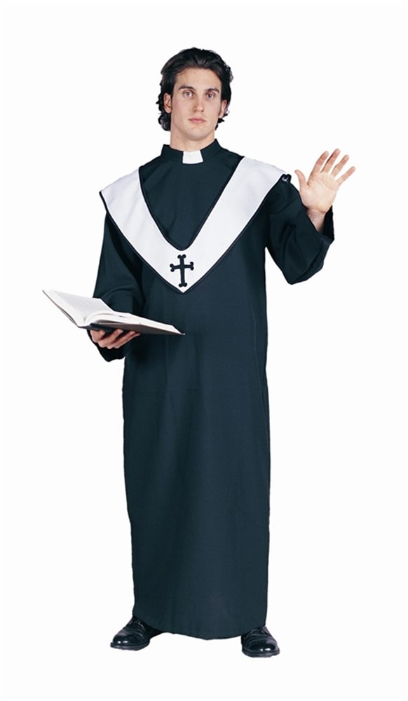 Picture of Priest Deluxe Adult Costume
