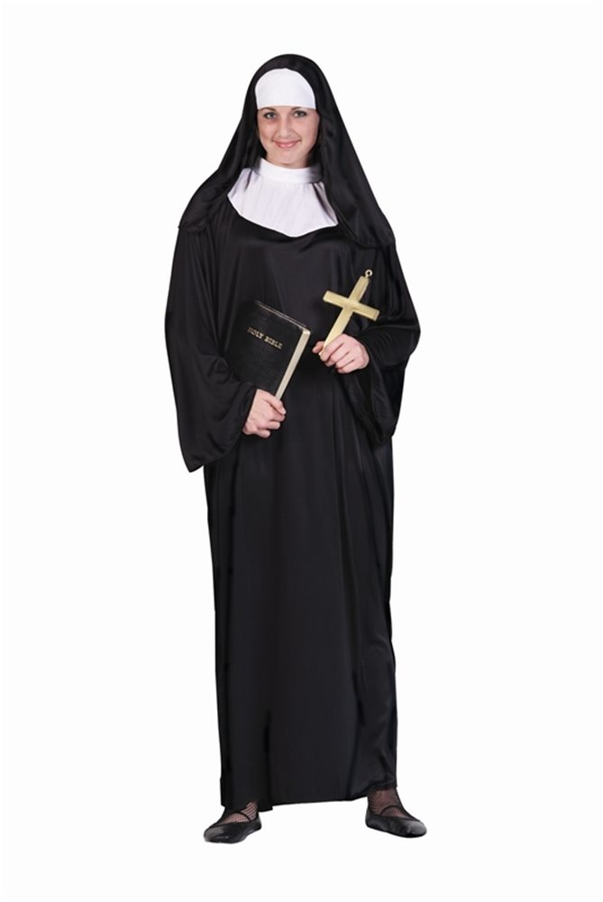 Picture of Nun Adult Womens Plus Size Costume