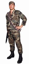 Picture of Camouflage Army Commando Costume