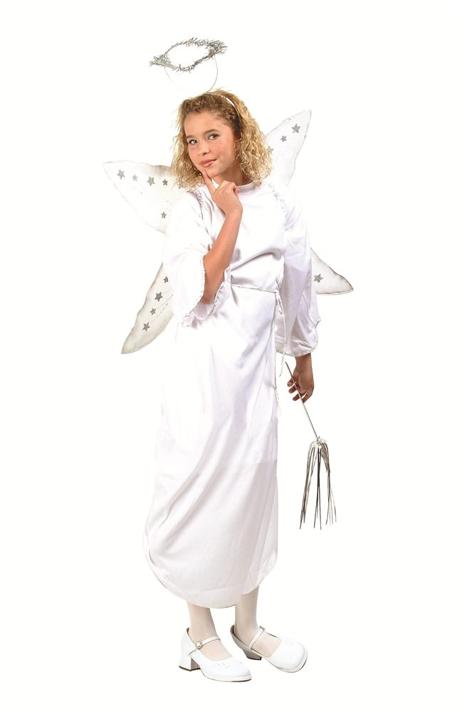 Picture of White Angel Child Costume