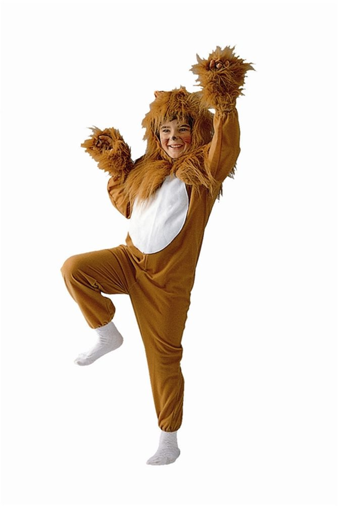 Picture of Lion Jumpsuit Child Costume