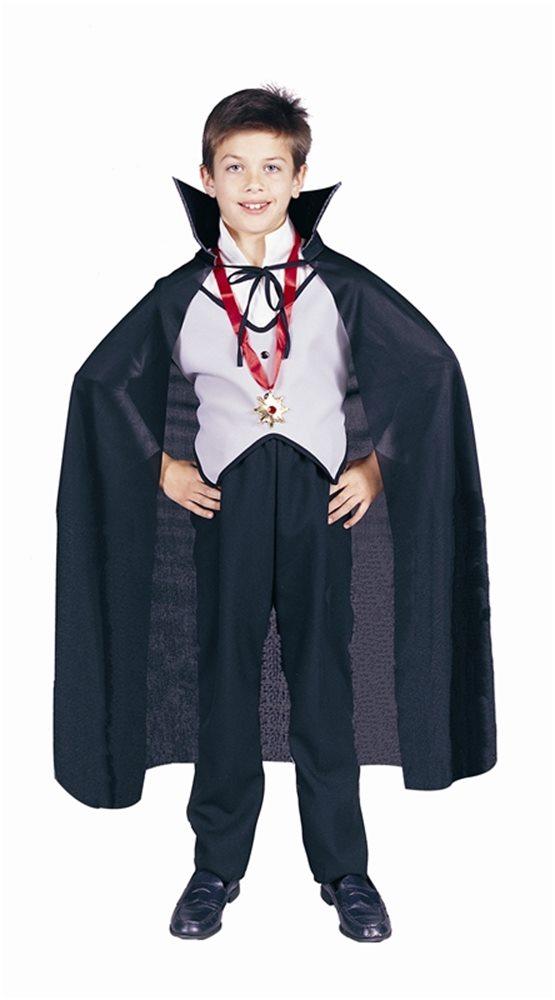 Picture of Black Dracula Child Cape