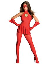Picture of The Flash Adult Womens Costume