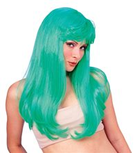 Picture of Green Glamour Wig