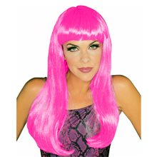 Picture of Hot Pink Glamour Wig