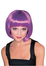 Picture of Purple Super Model Wig