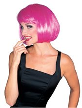Picture of Hot Pink Super Model Wig