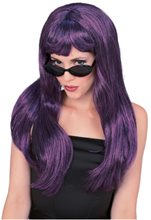 Picture of Purple Black Glamour Wig