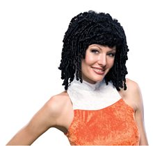 Picture of Short Curly Black Wig