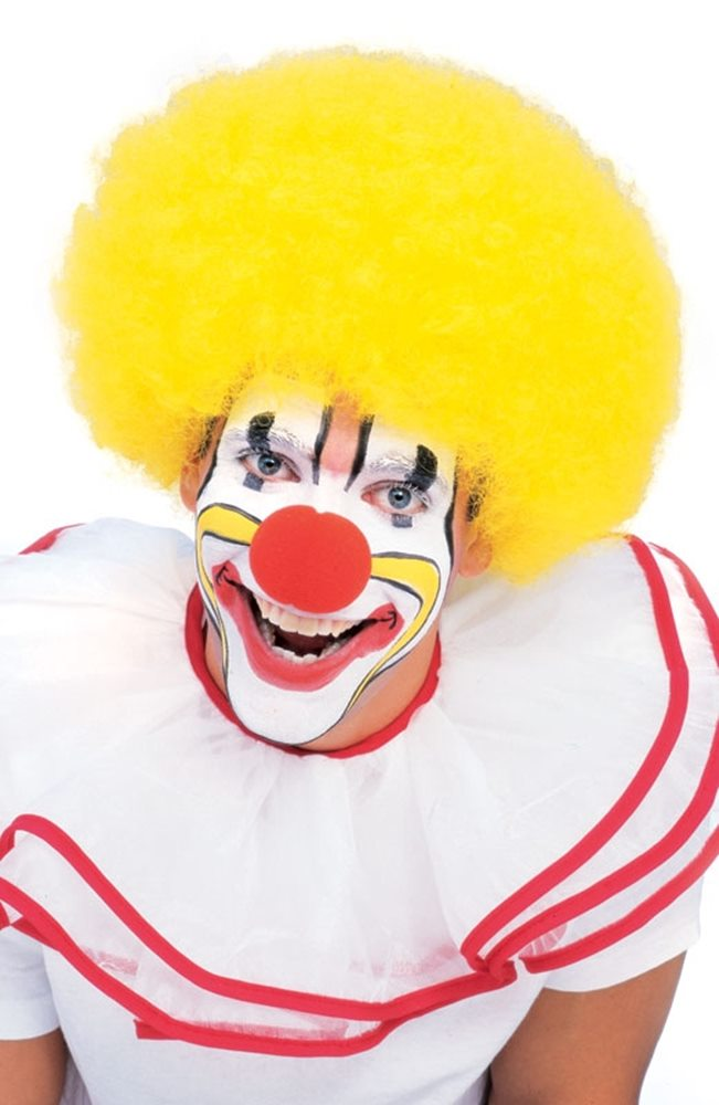 Picture of Yellow Clown Wig
