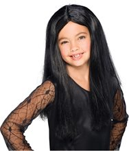 Picture of Black Witch Child Wig