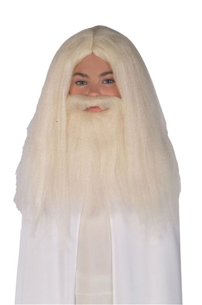Picture of The Lord of the Rings Gandalf Beard & Wig Set