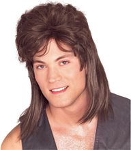 Picture of Brown Mullet Wig