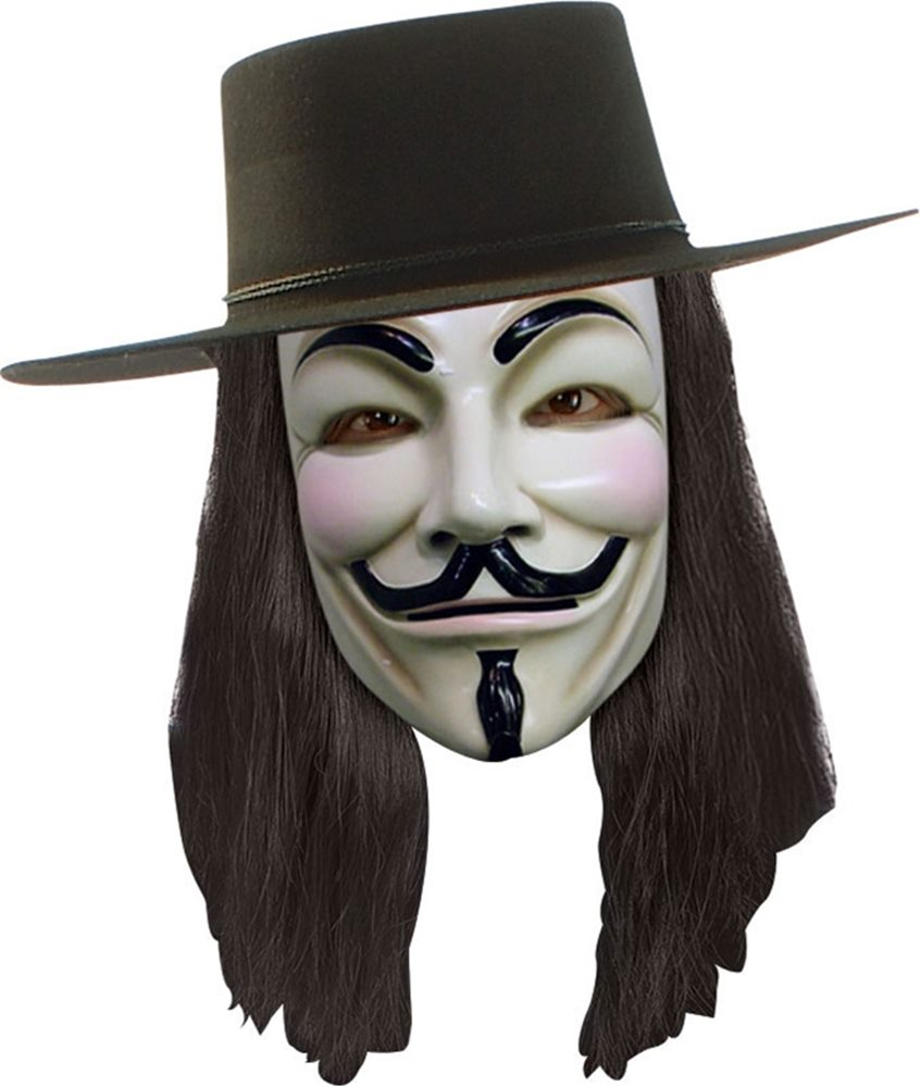 Picture of V for Vendetta Wig