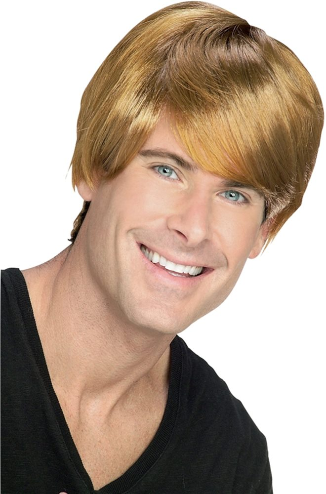 Picture of Brown Rocket Man Wig