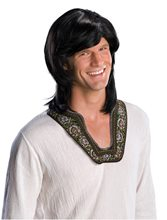 Picture of 70s Guy Black Wig