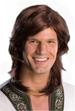 Picture of Brown 70s Guy Wig
