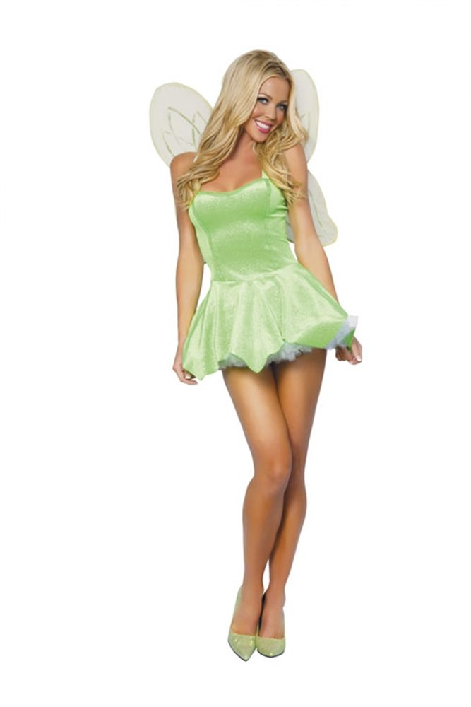 Picture of Pretty Pixie Green Adult Womens Costume