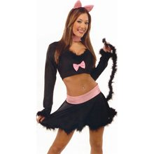 Picture of Sexy Black Cat Adult Womens Costume