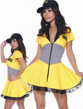 Picture of Sexy Taxi Driver Adult Womens Costume