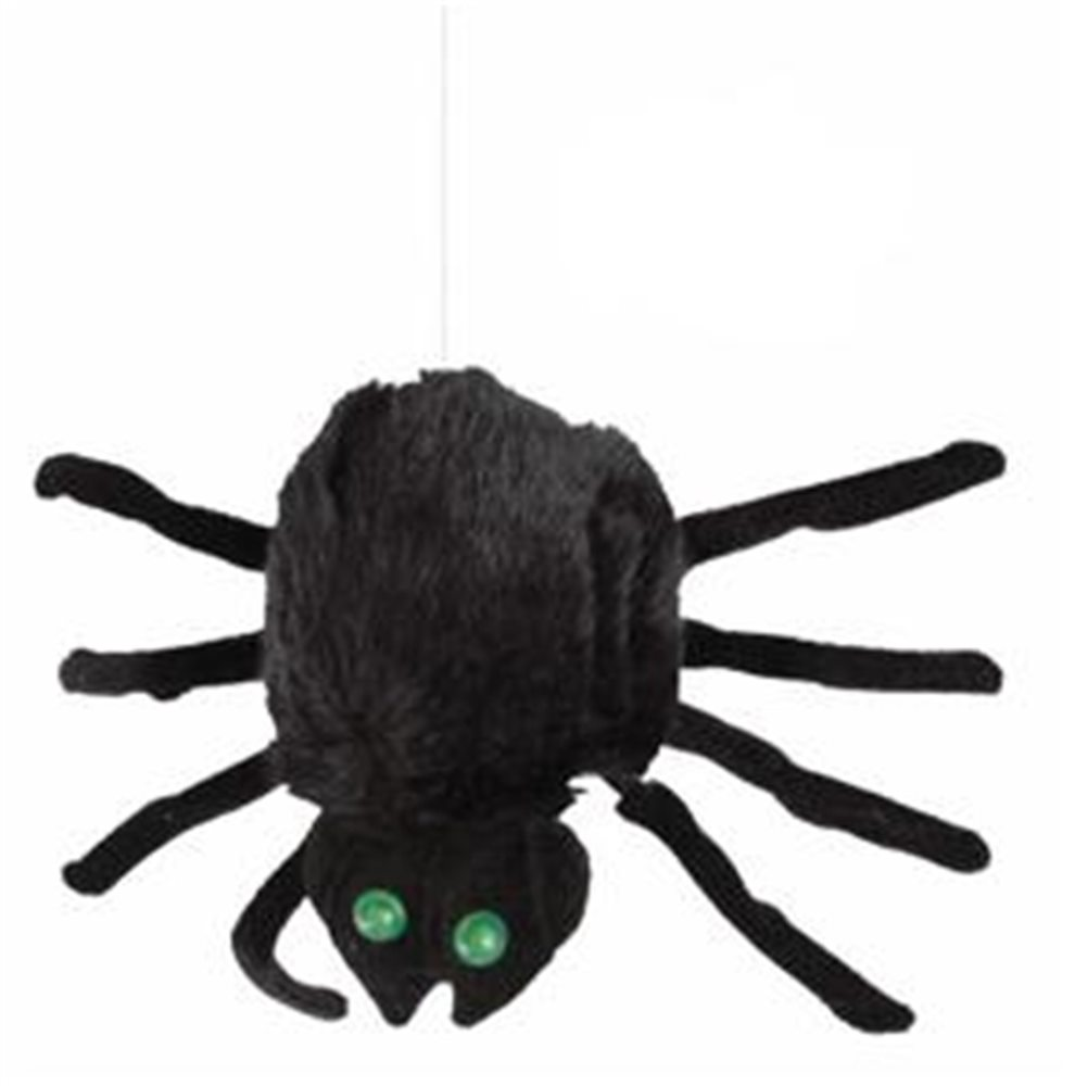 Picture of Drop Down Crazy Hairy Spider Animated Prop