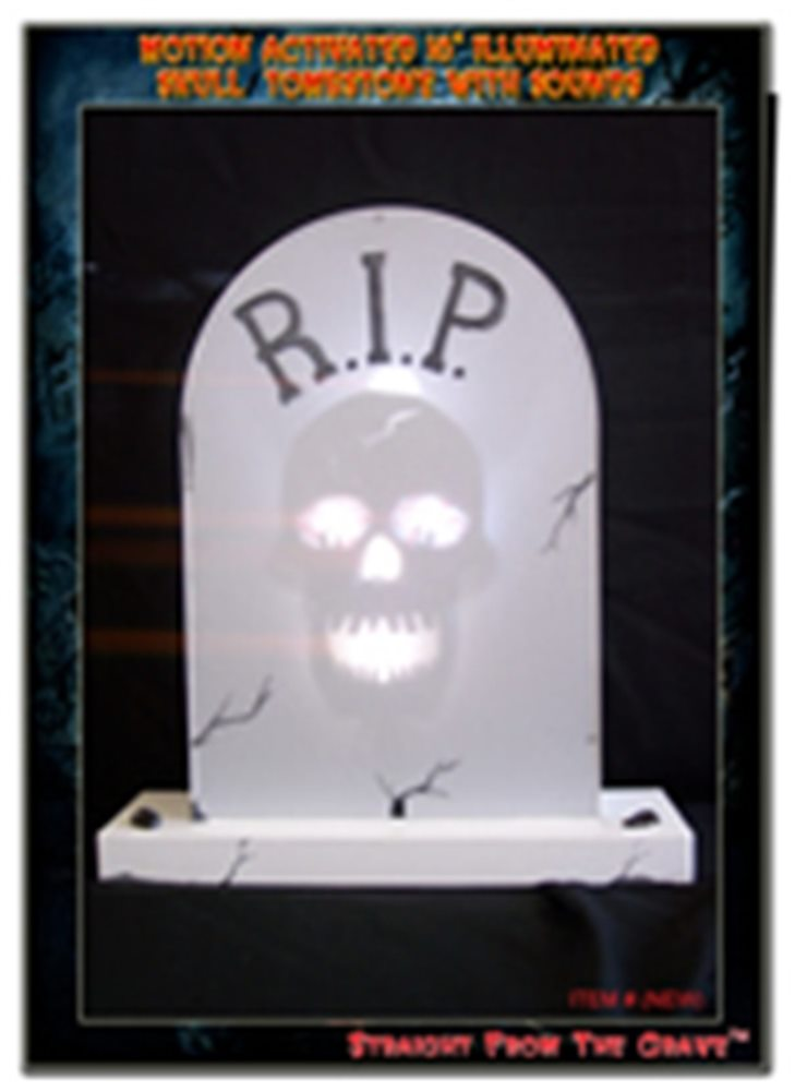 Picture of Illuminated Skull18 Inches