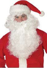 Picture of Santa Claus Beard and Wig Set