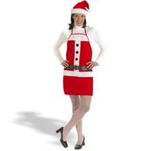 Picture of Santa Apron and Hat Set