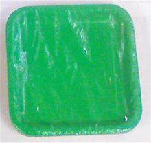 Picture of Green Square Dessert Plates