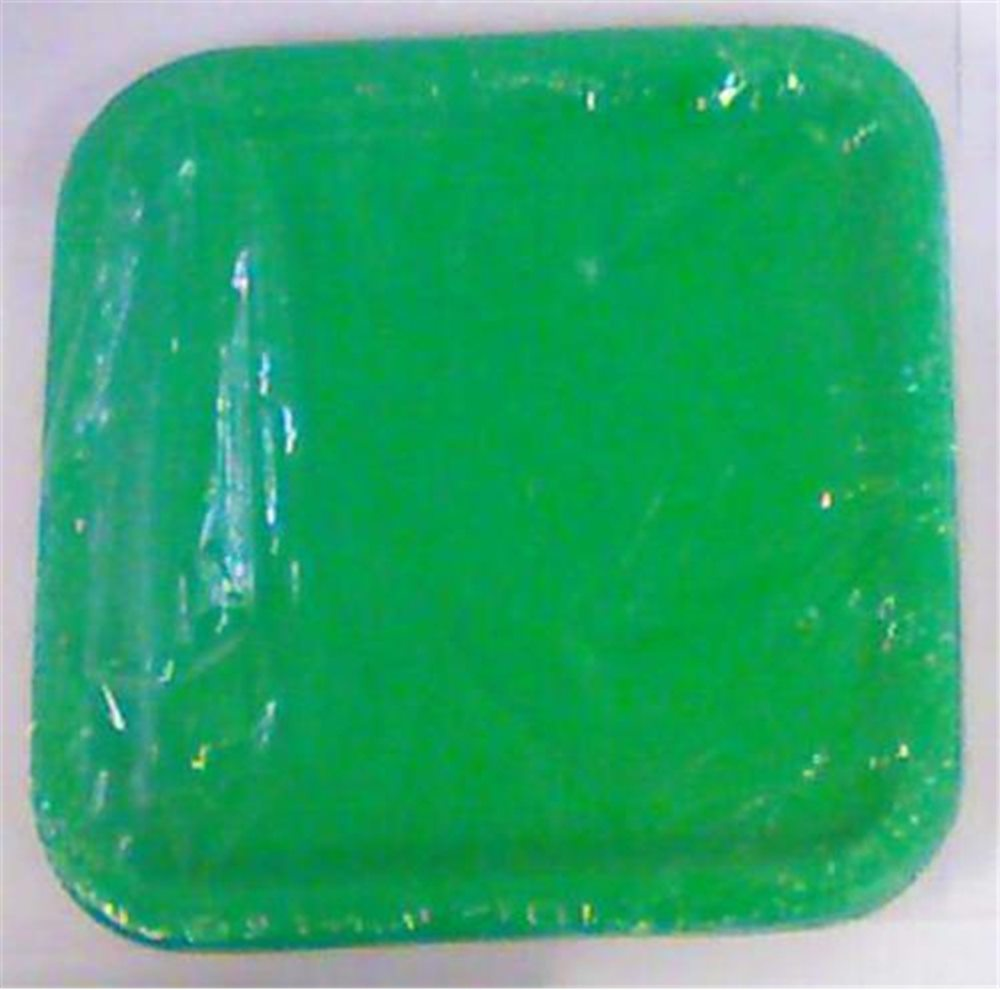 Picture of Green Square Dinner Plates