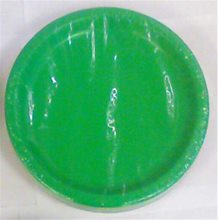 Picture of Green Medium Dinner Plates