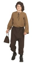 Picture of Renaissance Peasant Boy Child Costume
