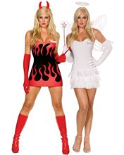 Picture of Miss Hellen Back Reversible Adult Womens Costume