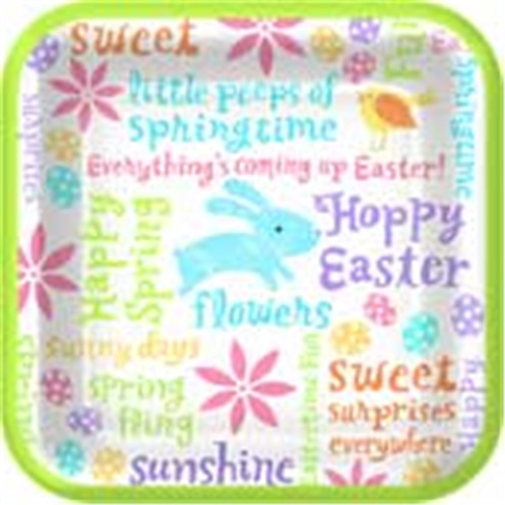 Picture of Easter Fun Dinner Plates