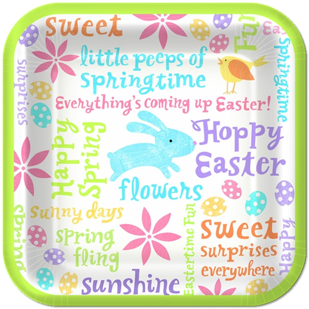 Picture of Easter Fun Dess Plates