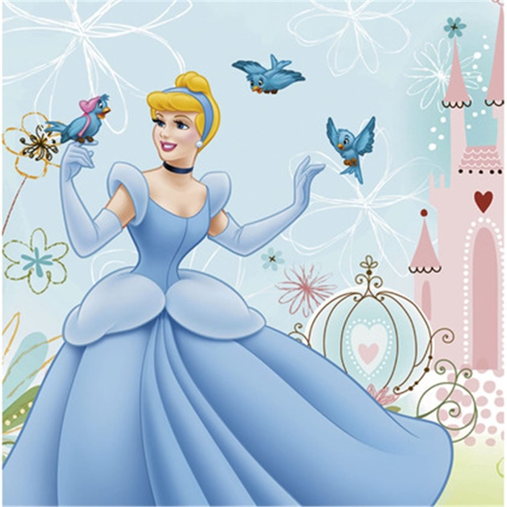 Picture of Cinderella Lunch Napkins
