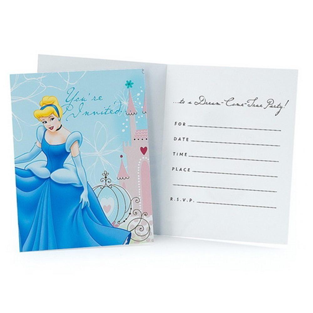 Picture of Cinderella Invitations