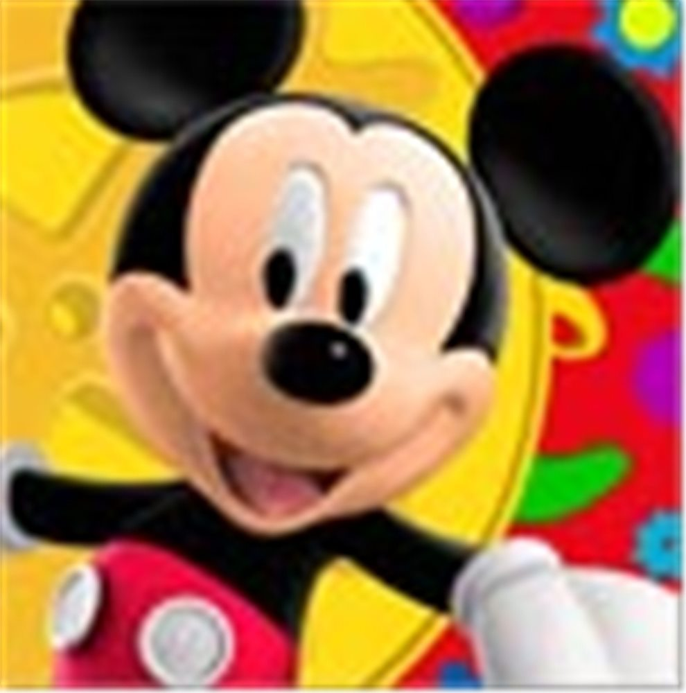 Picture of Mickey Clubhouse Lunch Napkins